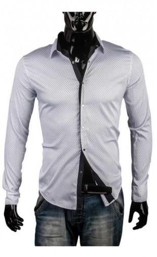 Koszula męska biała wizytowa