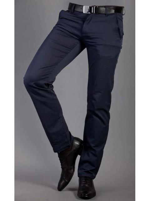 Męskie spodnie wizytowe