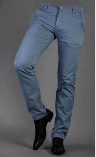 Wizytowe spodnie błękit