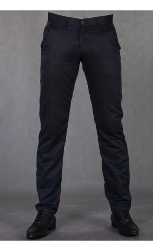 eleganckie spodnie granat 2040t