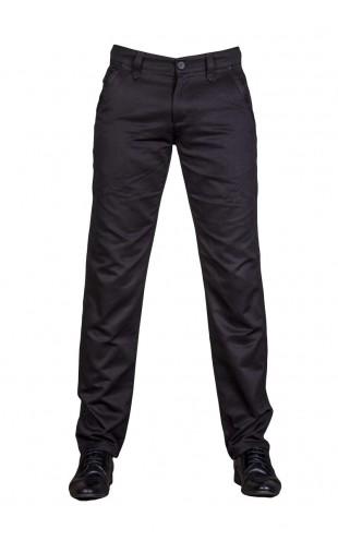 eleganckie spodnie czarne 2040t