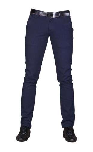 Wizytowe spodnie granat auris