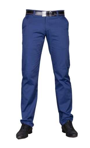 Wizytowe spodnie niebieskie 2220