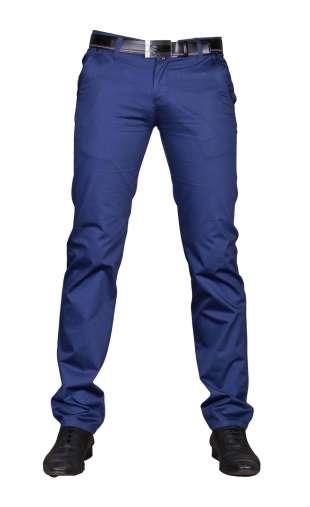 Spodnie wizytowe niebieskie 2190