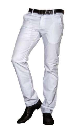Spodnie wizytowe białe 2220 BARBETTI