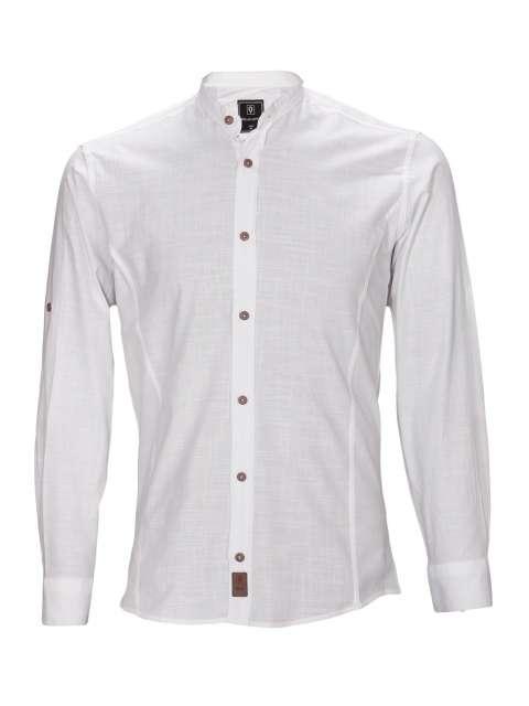 Koszula biała stójka sil-02