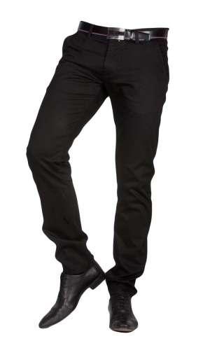 Spodnie wizytowe chinos czarne