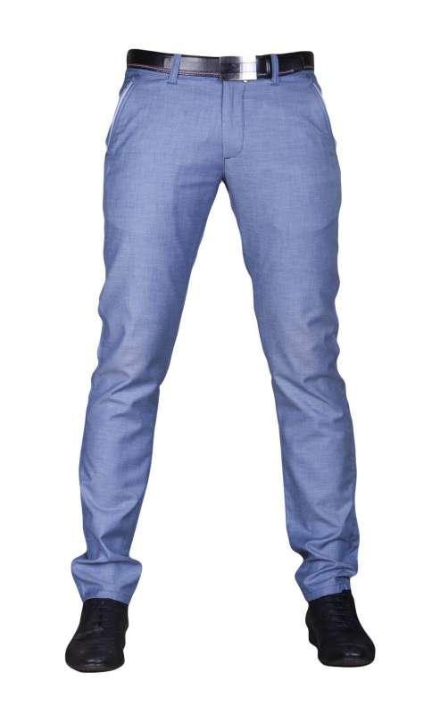 b7731ecc797ba Spodnie wizytowe indygo cienkie 1710