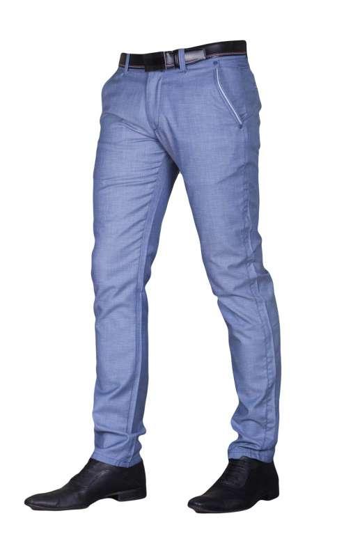 cad84f92e4561 Spodnie wizytowe indygo · Spodnie wizytowe indygo ...