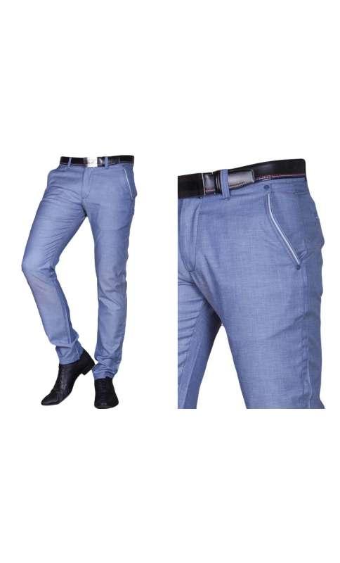 f691ebdb32238 ... Spodnie wizytowe indygo · Spodnie wizytowe indygo