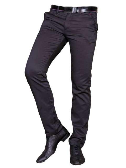 Spodnie wizytowe czarne 7028 SIVAH