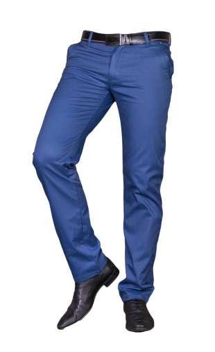 Spodnie męskie wizytowe niebieskie 1710