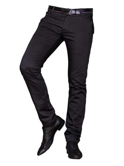 Spodnie męskie wizytowe czarne 1710