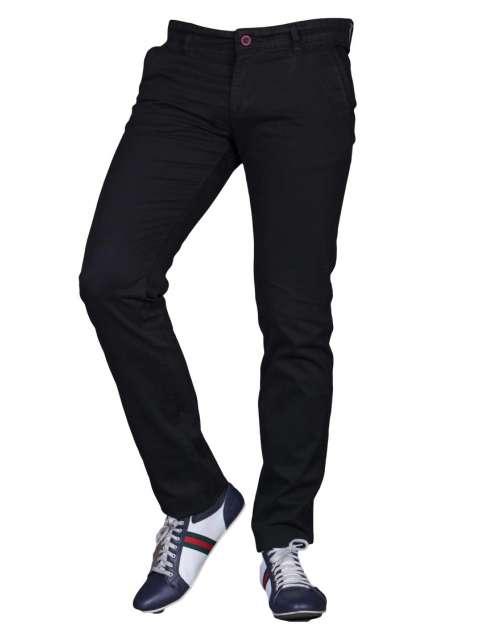 Spodnie czarne barbetti 1711 fashionmen2