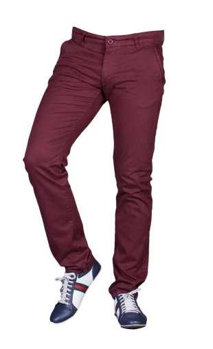 Spodnie bordowe barbetti 1711