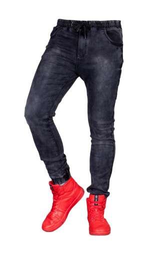 Spodnie joggery grafit lx-670