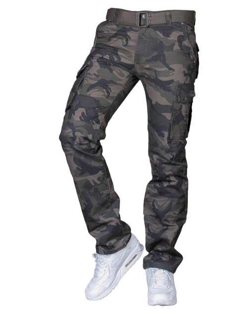 Spodnie bojówki moro 2096