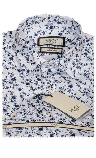 Koszula męska kwiaty G3