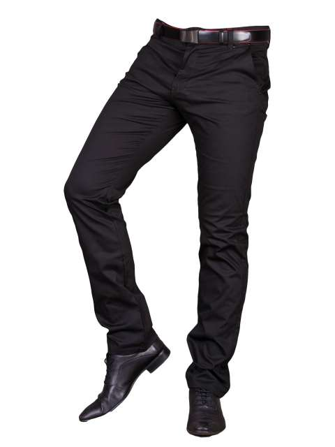 Spodnie wizytowe czarne 2501