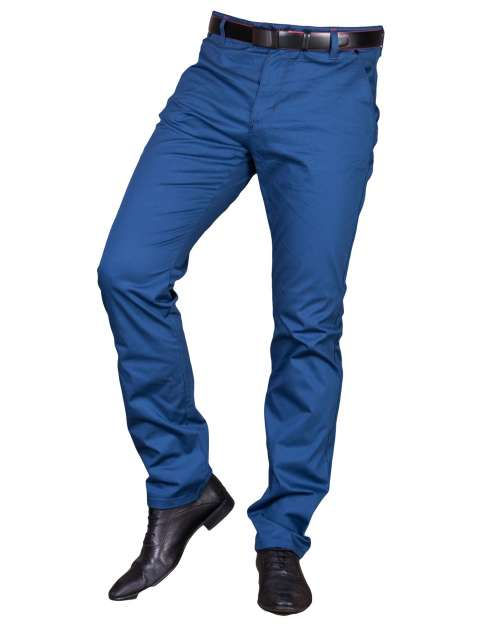 Spodnie wizytowe niebieskie 2501