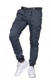 Spodnie joggery grafit 8936-5