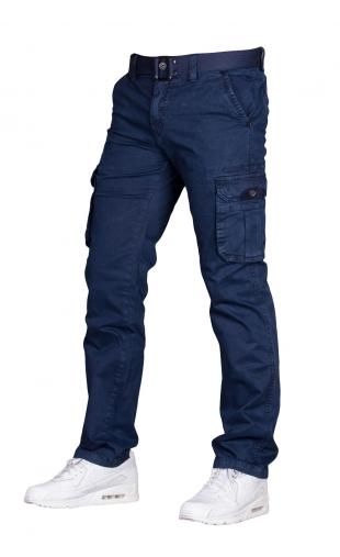 Spodnie bojówki granatowe1779-8