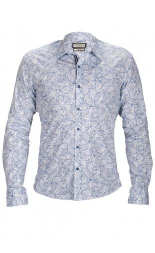 Koszula męska w kwiaty G18-470 G2