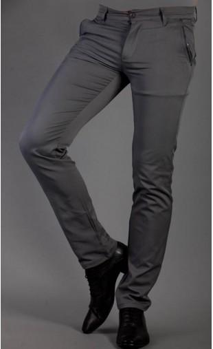 Spodnie wizytowe szare 1710a