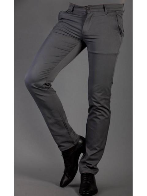 Wizytowe spodnie szare