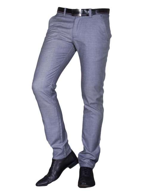 Spodnie wizytowe szare