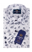 Koszula biała w kwiaty BB-01