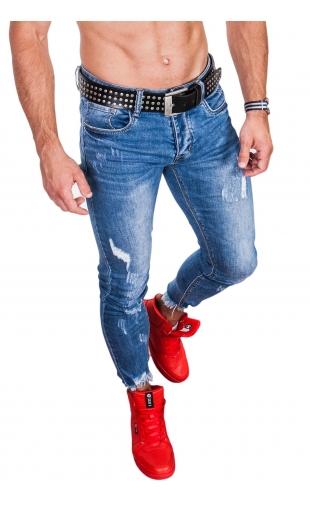 Spodnie Jeansowe rurki 7/8 KA283