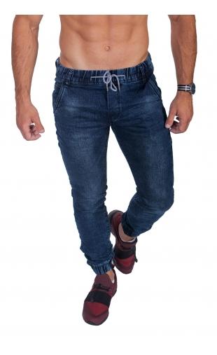 Spodnie jeansowe joggery ka666