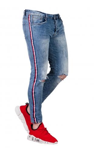 Spodnie jeansowe N028