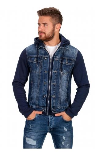 Kurtka bluza jeansowa AK532