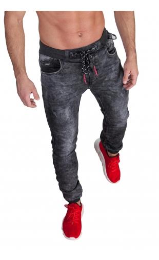 Spodnie Jeansowe joggery T795
