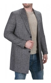 Męski płaszcz jodełka 9007