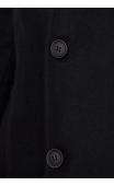 Płaszcz zimowy czarny 9019