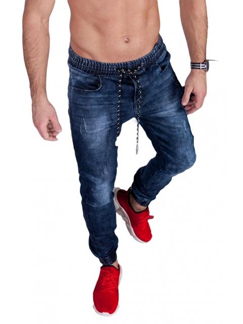 Spodnie Jeansowe joggery T775