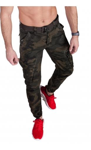 Spodnie joggery moro 6009-5