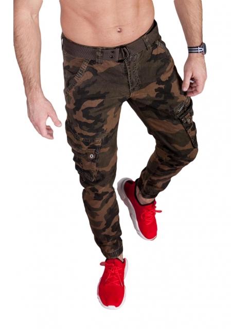 Spodnie joggery moro 6009-6