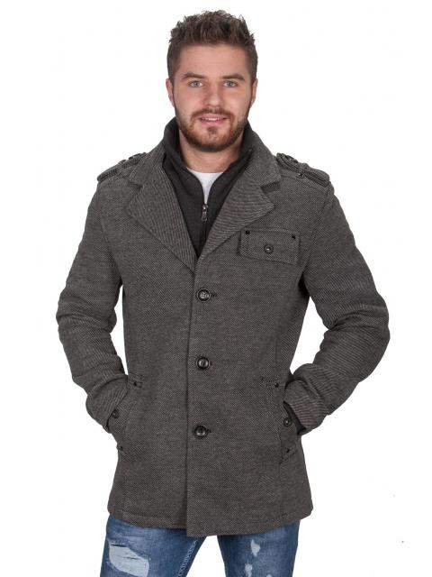 Płaszcz zimowy jodełka 8211