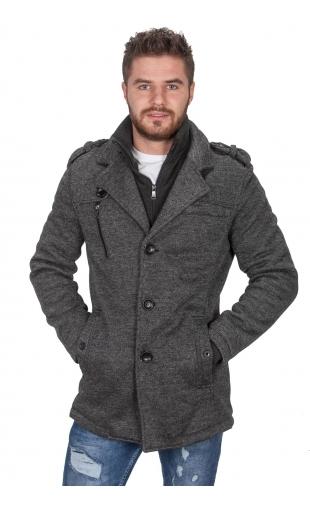Płaszcz zimowy melanż 2245