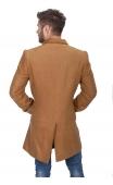 Płaszcz długi miodowy 9003