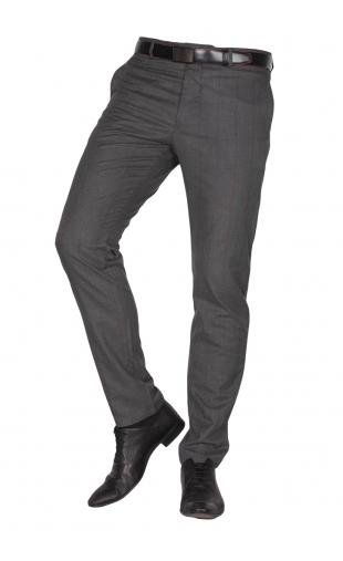 Spodnie wizytowe szare krata f15