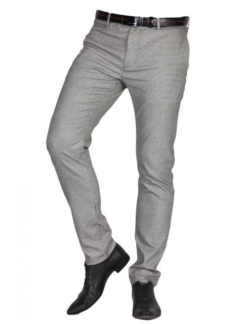 Spodnie wizytowe szare frappoli 11-48