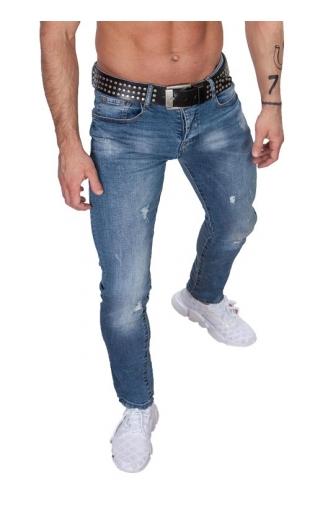 Spodnie męskie jeansowe by-2147