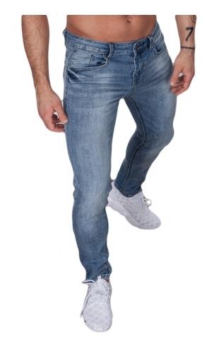 Spodnie męskie jeansowe by-2185