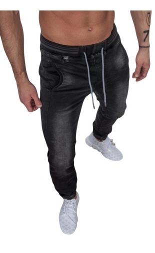Spodnie jeansowe joggery ka688-1