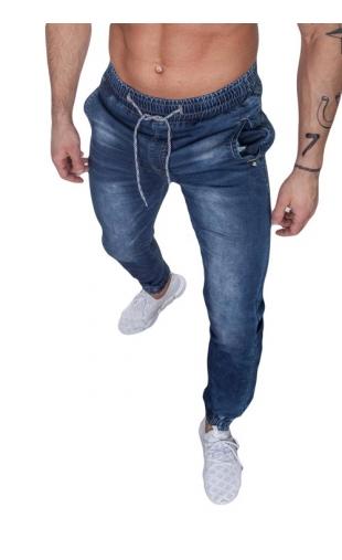 Spodnie jeansowe joggery ka819